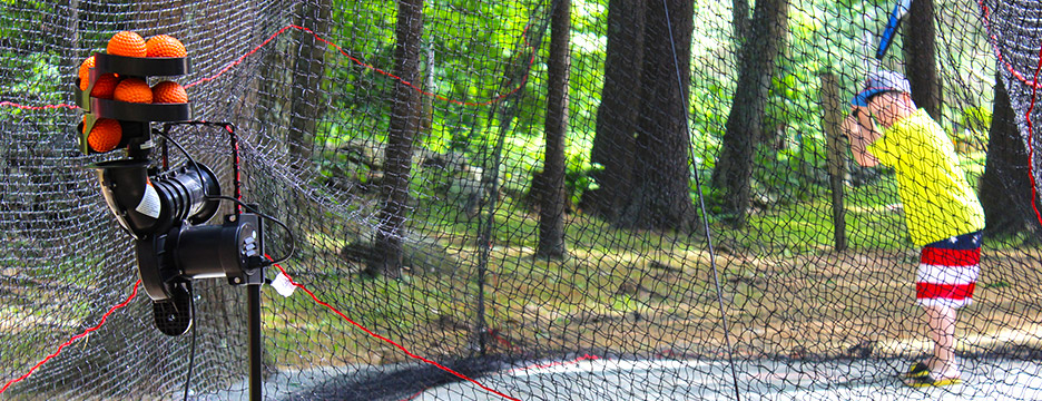 Batter Up at Partridge Hollow Camping Area