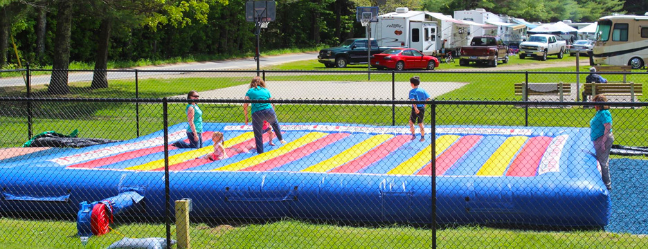 Jump on over to Partridge Hollow Camping Area