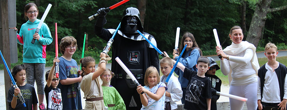 May THE FORCE BE WITH YOU at Partridge Hollow Camping Area