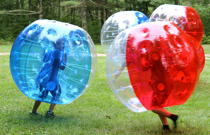 Bubble Ball Bumper Battles at Partridge Hollow Camping Area