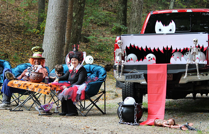Halloween at Partridge Hollow Camping Area