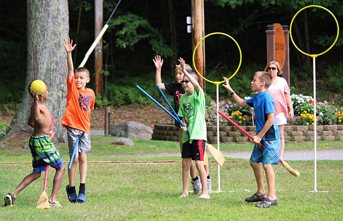 Hoop Challenge at Partridge Hollow Camping Area