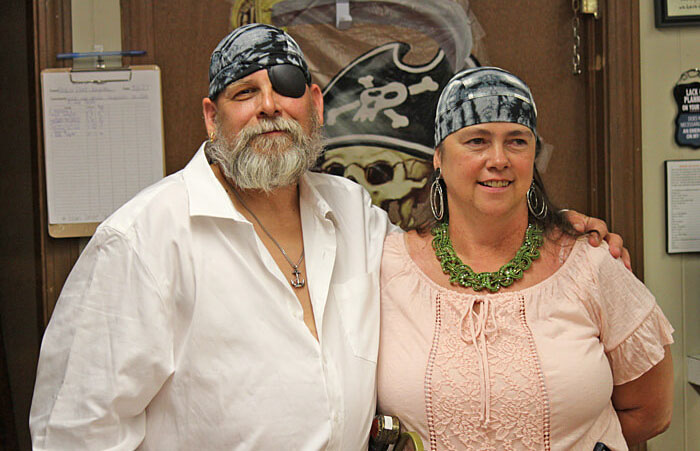 Pirates at Partridge Hollow Camping Area